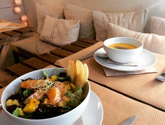 Portada: un dinar al restaurant Natural de Vilassar de Mar