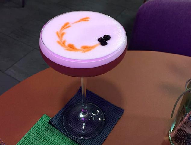 Un dels cocktails del Charlotte Gastrobar & Cocktails de Mataró
