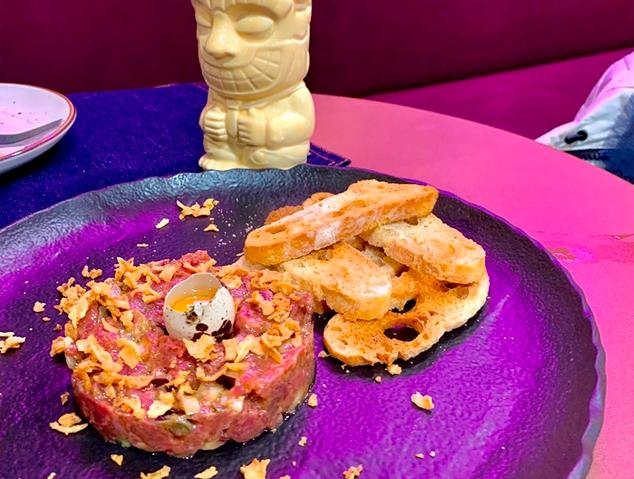 Steak Tàrtar del Charlotte Gastrobar de Mataró