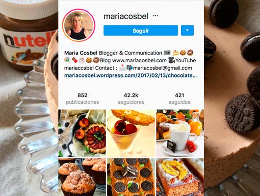 La Instagramer Maria Cosbel