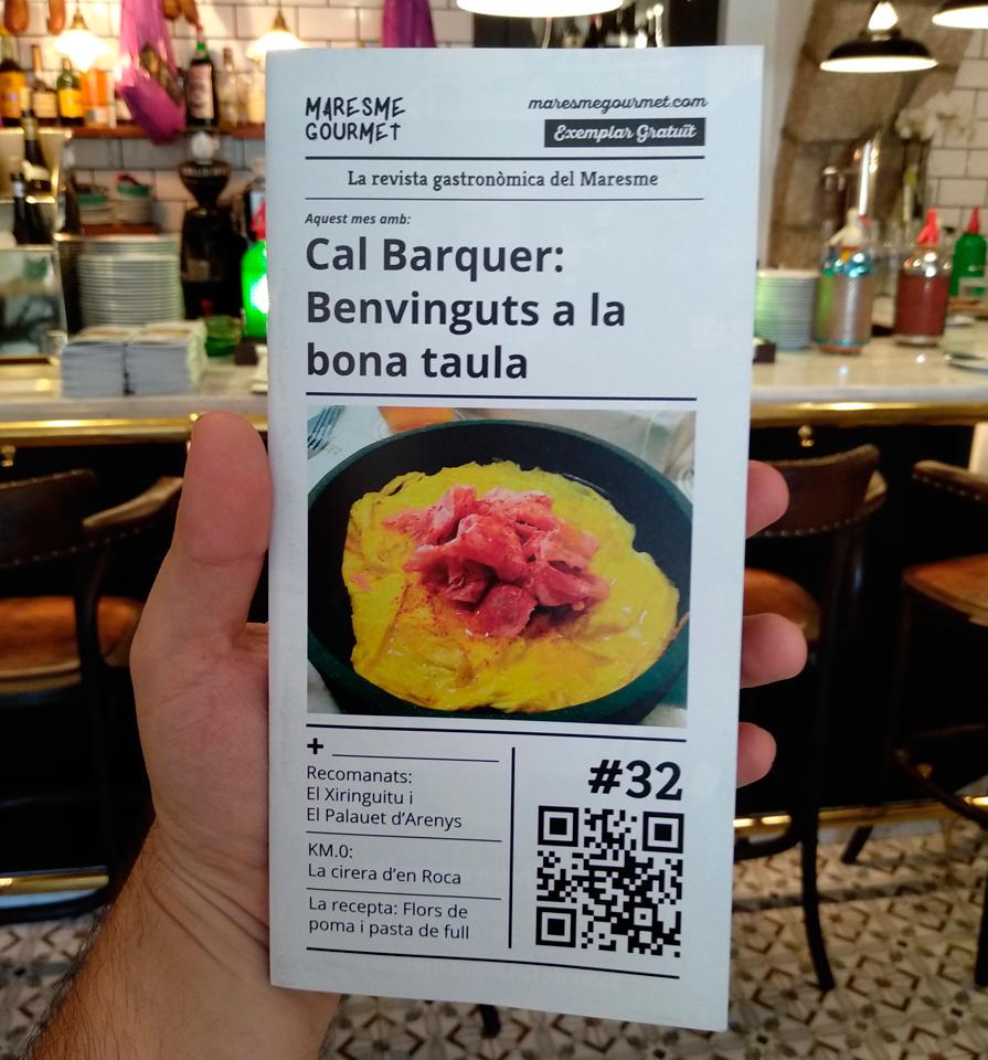 Revista número #32. Cal Barquer: Benvinguts a la bona taula