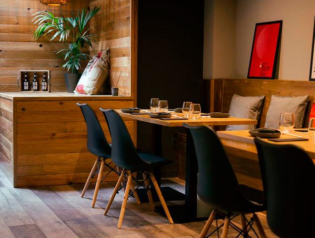 Interior del restaurant ROMO SUSHI SPOT