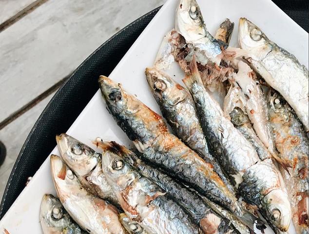 Sardines del Xiringuitu de Mataró