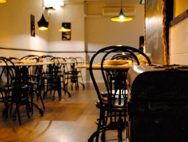 Interior del restaurant APTA