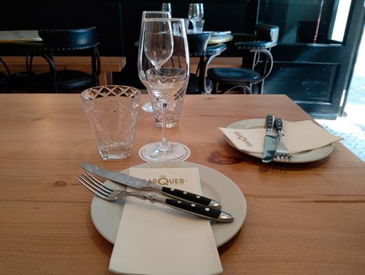 Una taula de Cal Barquer (Alella)