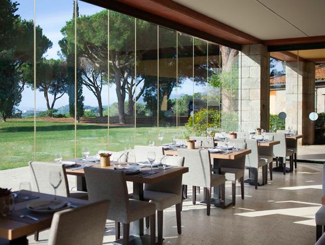 Menjador interior del restaurant Racó19