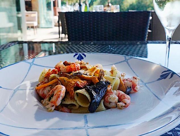 Un plat de pasta del restaurant Racó19