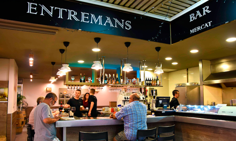 Bar Entremans (Mercat Municipal del Masnou)