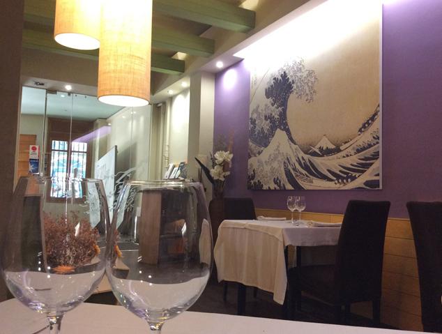 Interior del Restaurant Sèsam Negre