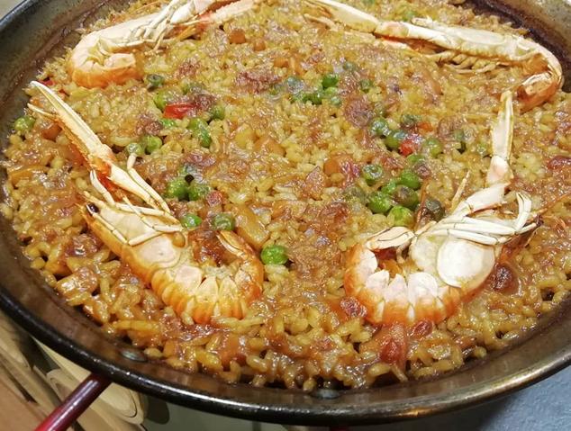 Una paella del restaurant Eume d'Arrels Senzilles de Mataró