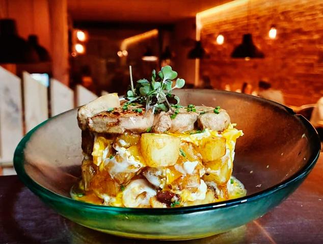 Un dels plats del restaurant Meraki17 de Mataró