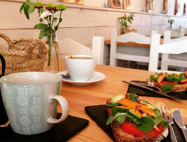 Un esmorzar al Restaurant Natural de Vilassar de Mar