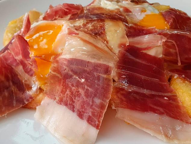 Ous estrellats del restaurant La Monda de Mataró