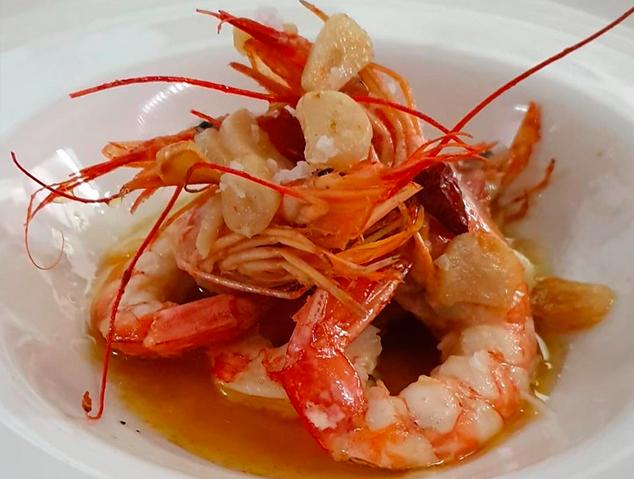 Un dels plats del restaurant Panoràmic Laietània de Mataró