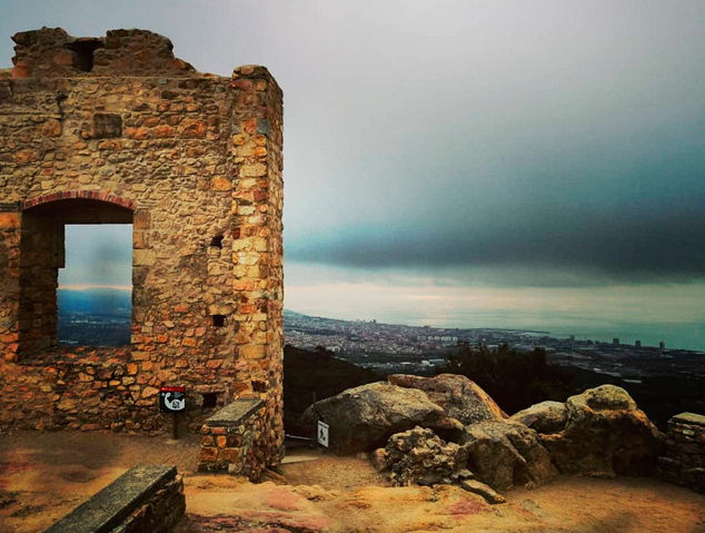 Vistes desde el Castell de Burriac