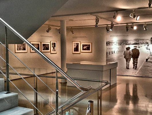 Una de les exposicions de la Fundació Palau de Caldes d'Estrac