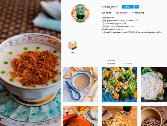 El blog de cuina Collita del 91