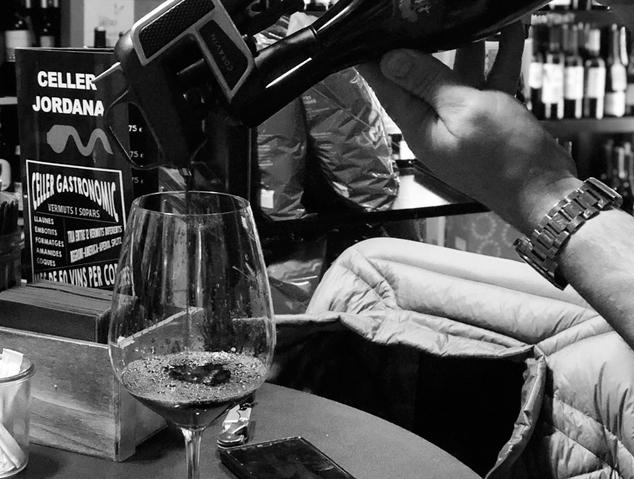 Una copa de vi gourmet - Celler Jordana (Alella)