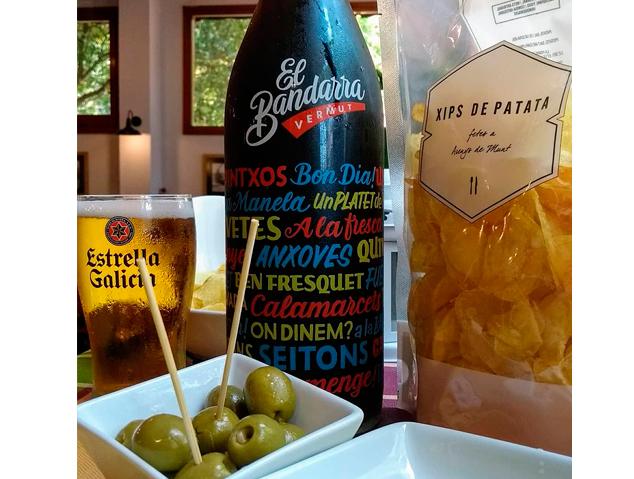 Vermut del restaurant Les13 d'Arenys de Mar
