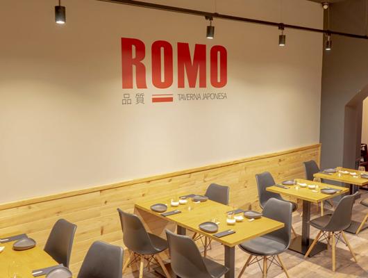 El renovat restaurant ROMO SUSHI SPOT de Mataró
