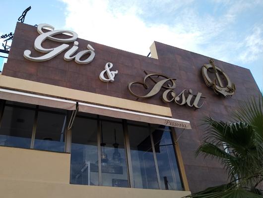 Restaurant Giò&Pòsit d'Arenys de Mar
