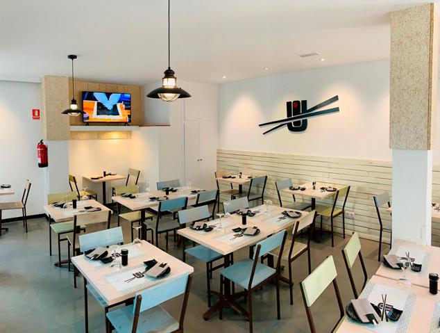 Interior del restaurant Yume Sushi & Oysters de Vilassar de Mar