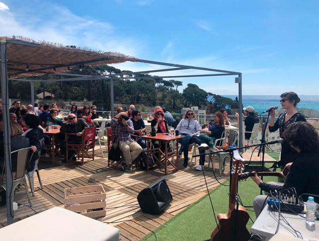 Un concert al Dynamic Hotel de Caldes d'Estrac