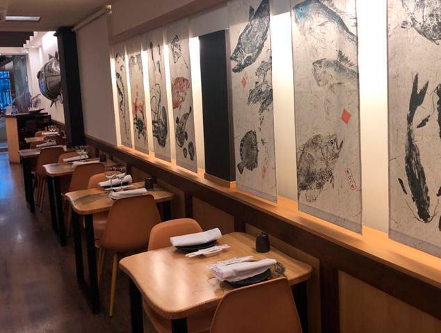 Interior del restaurant Sesam Negre