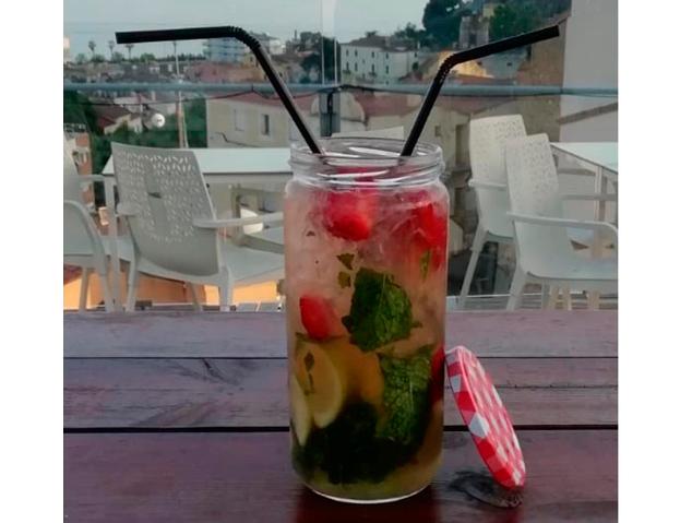 Mojito del Dynamic Hotel de Caldes d'Estrac