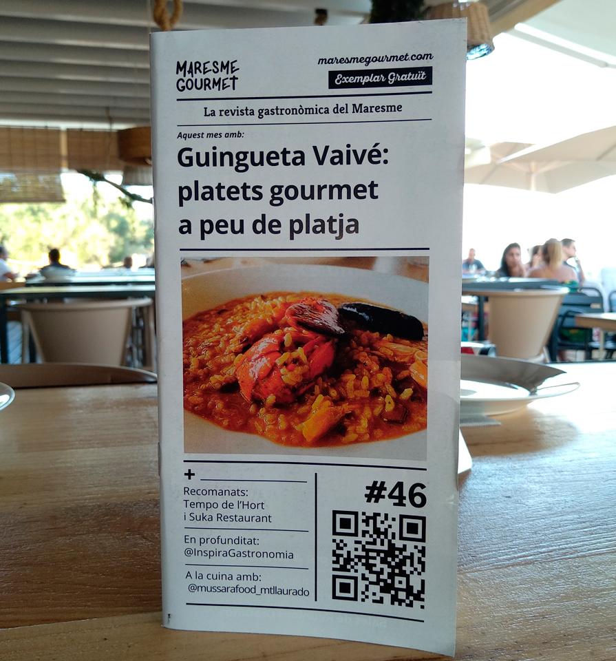 Portada de l'edició 46 de Maresme Gourmet