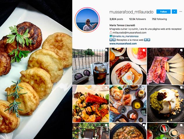 Una recepta de l'instagramer MussaraFood