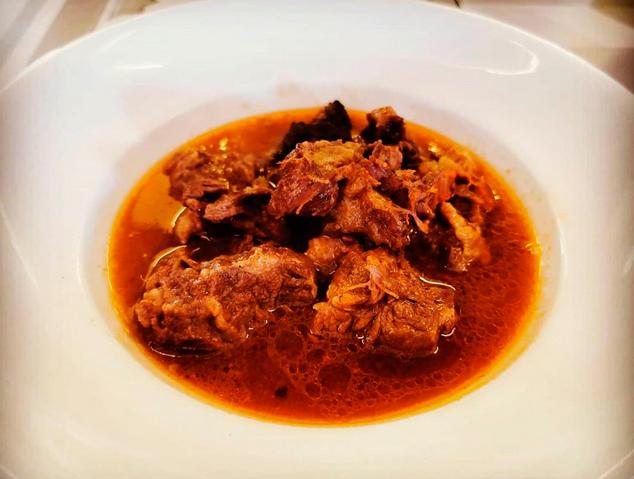 Un plat de bolets del restaurant Tarannà de Mataró
