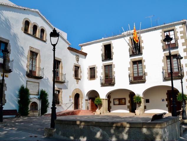 La casa de la vila d'Arenys de Mar