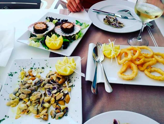 Plats del restaurant El Portinyol