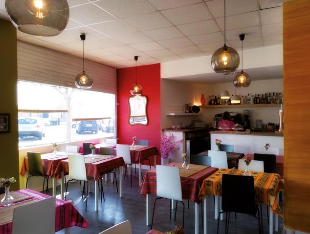Interior del restaurant Ca la Ceci de Mataró