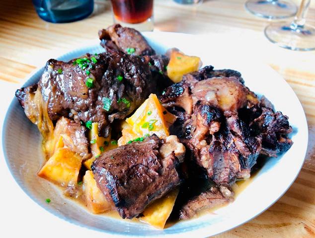 Un plat del restaurant Palomino Fino de Mataró