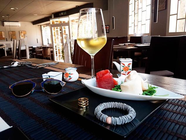 Part del local del Sushi Ra de Premià de Mar