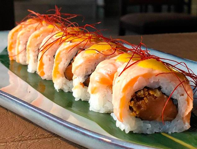 Un dels plats del restaurant Sushi Ra de Premià de Mar