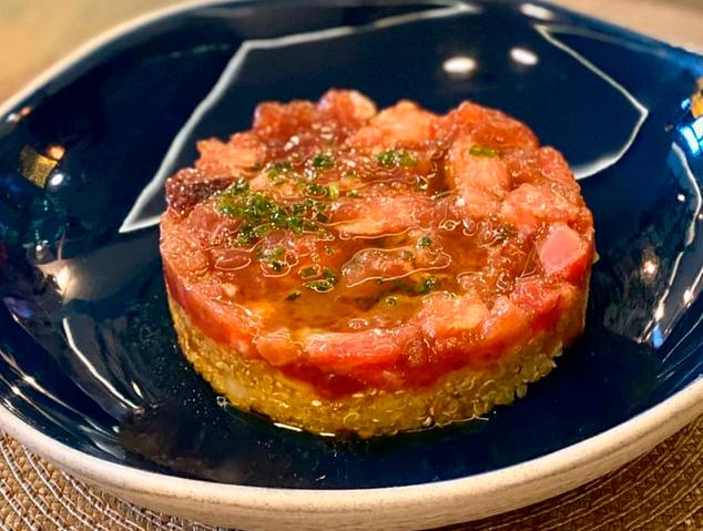 Tàrtar de tonyina del Jardí del Vellard