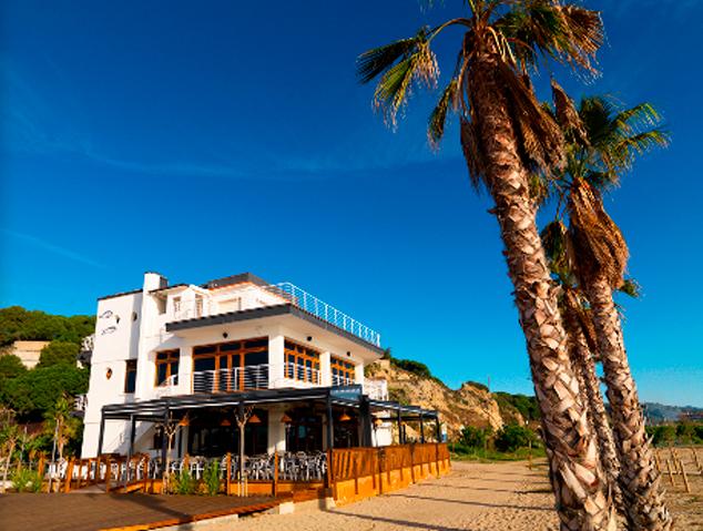 Terrassa del restaurant El Portinyol