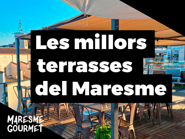 Les millors terrasses del Maresme