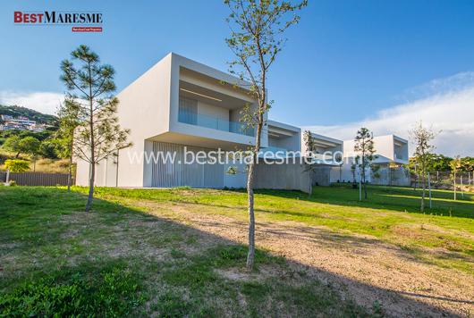 Una de les cases de l'inmobiliària Best Maresme