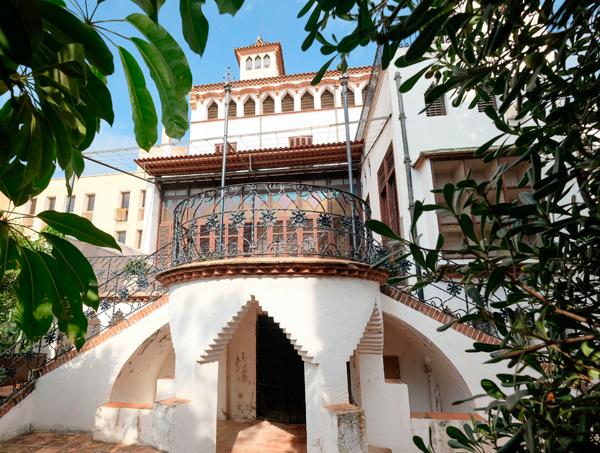 Terrassa Exterior de la Casa Coll i Regàs