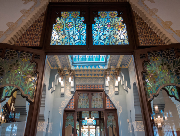 Interior de la Casa Coll  Regàs