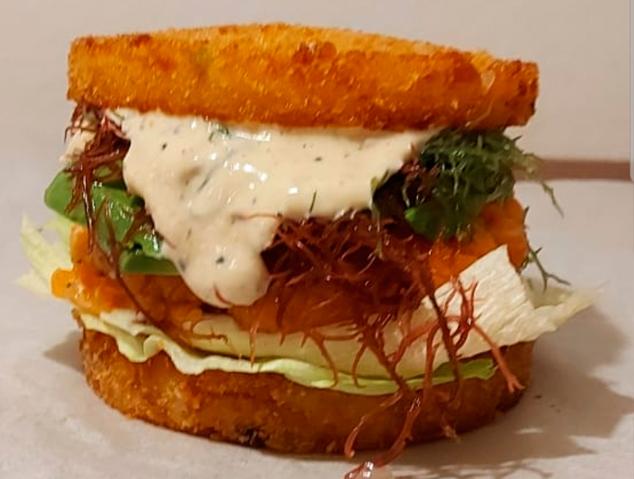 Una de les Burger del Crazy Japo