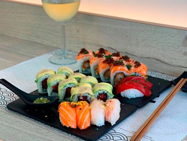 Plat de Sushi del Yume Sushi & Oysters