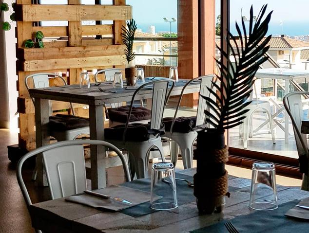 Interior del restaurant Ambients de Vilassar de Dalt