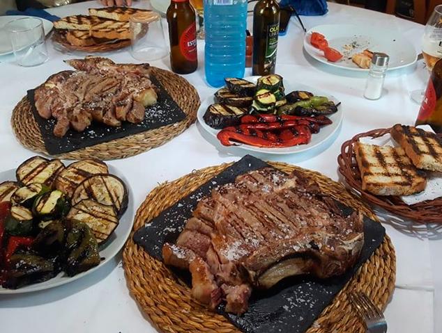 Txuletó del restaurant Sant Jaume a Premià de Dalt
