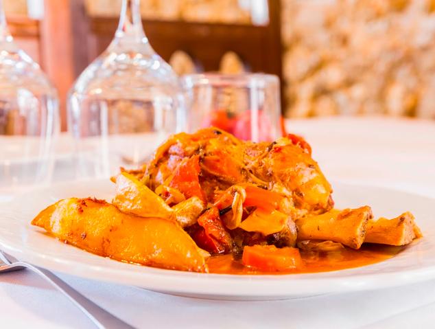 Un dels plats del restaurant Sant Jaume de Premià de Dalt