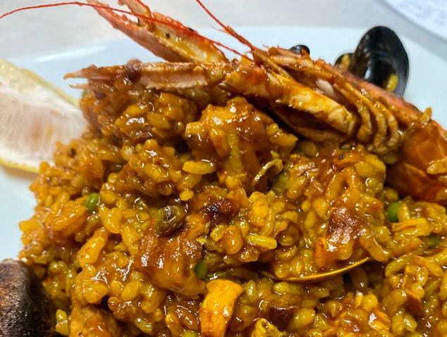 Paella mixta del restaurant Xeflis de Cabrils